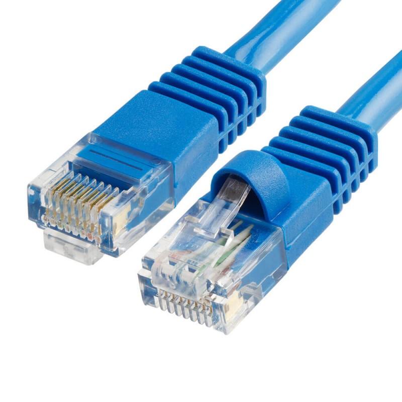 Cablu Retea 3m CAT6U/UTP, Albastru