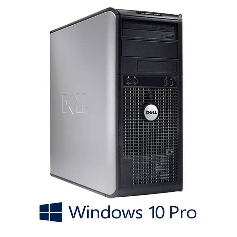 Calculatoare Dell Optiplex 760mt, Core 2 Duo E8400, Windows 10 Pro