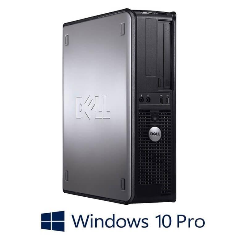 Calculatoare Dell OptiPlex 780 DT, Core 2 Duo E8400, 120GB SSD, Windows 10 Pro