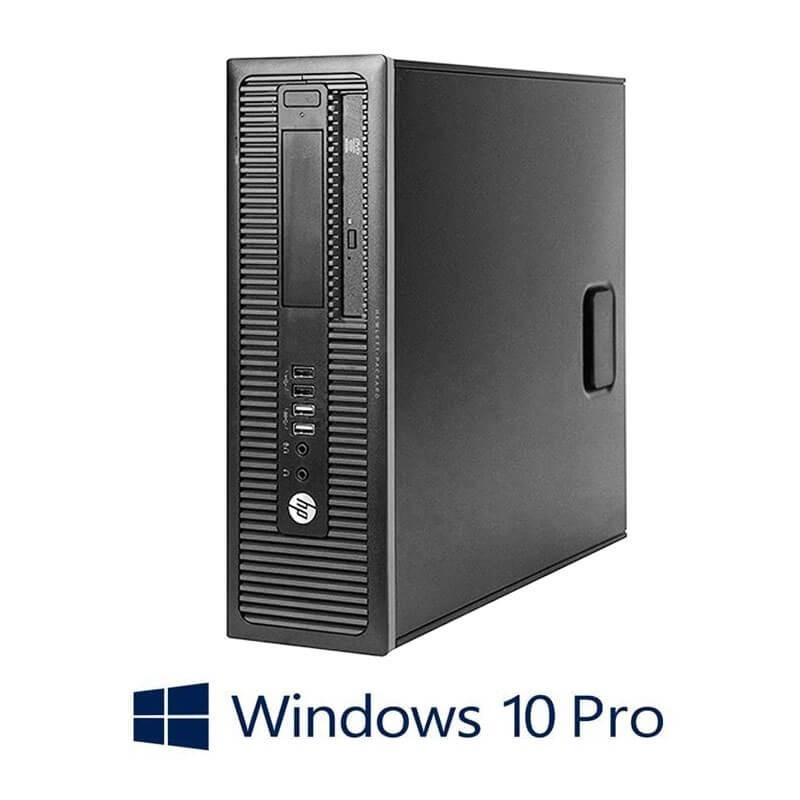 Calculatoare HP Prodesk 600 G1 SFF, i5-4570, Windows 10 Pro