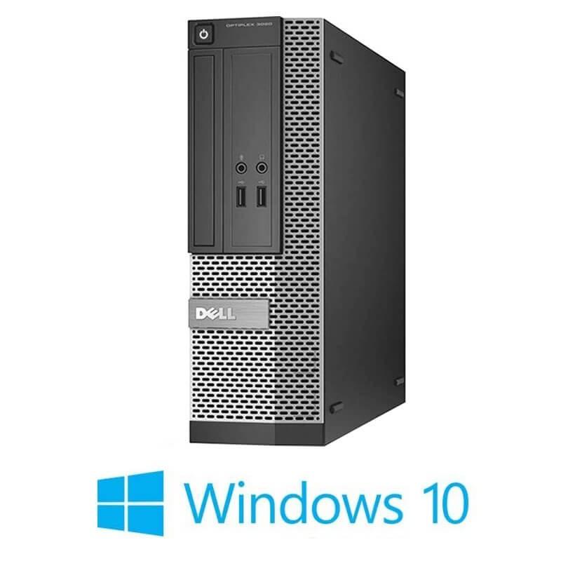 Calculator Dell OptiPlex 3020 SFF, Quad Core i5-4570, 120GB SSD NOU, Win 10 Home