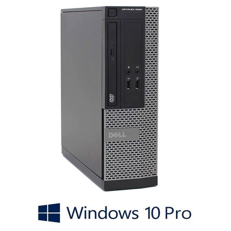 Calculator Dell OptiPlex 3020 SFF, Quad Core i7-4770, 8GB RAM, Windows 10 Pro