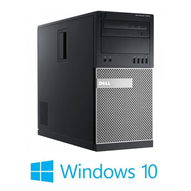 Calculator Dell OptiPlex 7010 MT, Quad Core i7-3770 Gen 3, Win 10 Home