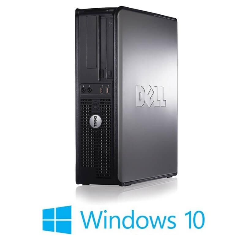 Calculator Dell OptiPlex 780 DT, Core 2 Duo E8400, 120GB SSD, Win 10 Home