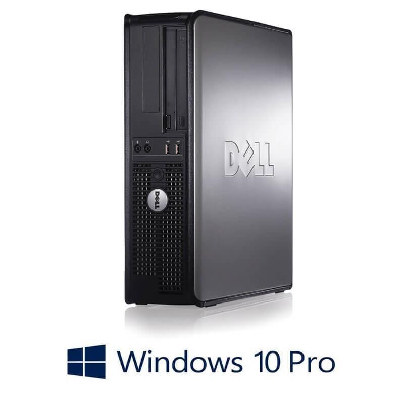 Calculator Dell OptiPlex 780 DT, Core 2 Duo E8400, 120GB SSD, Win 10 Pro
