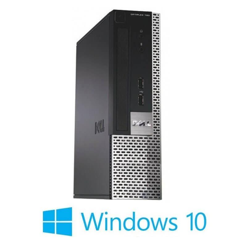 Calculator Dell OptiPlex 780 USFF, Intel Dual Core E6300, Windows 10 Home