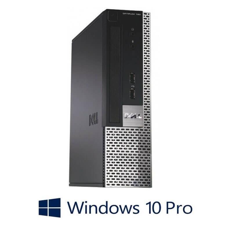 Calculator Dell OptiPlex 780 USFF, Intel Dual Core E6300, Windows 10 Pro