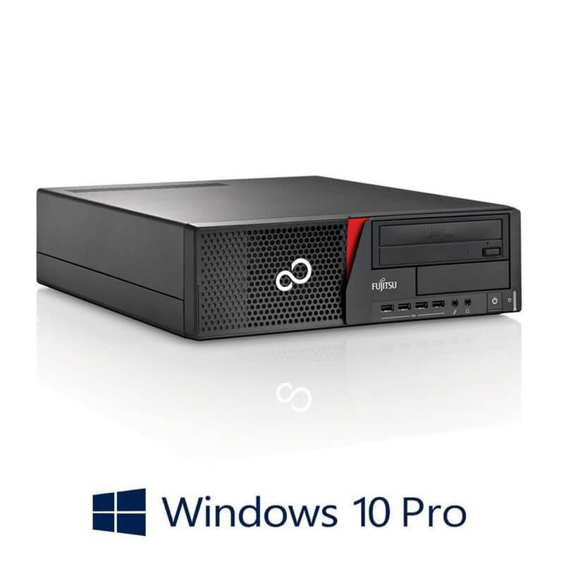 Calculator Fujitsu ESPRIMO E920, Quad Core i5-4570, 120GB SSD NOU, Win 10 Pro