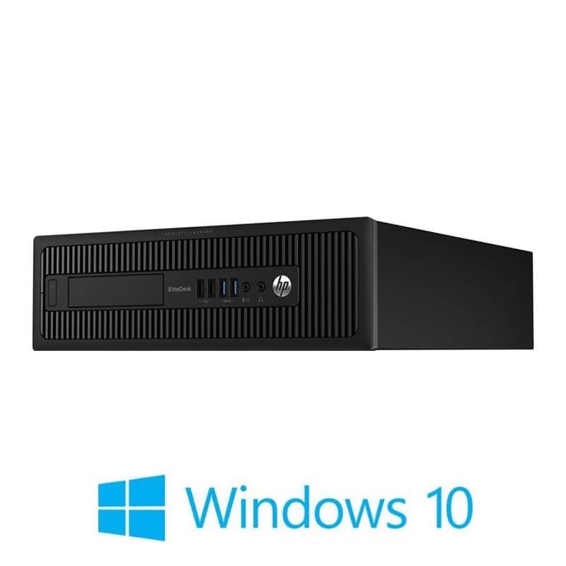 Calculator HP EliteDesk 705 G1 SFF, AMD A4 PRO-7300B, Windows 10 Home