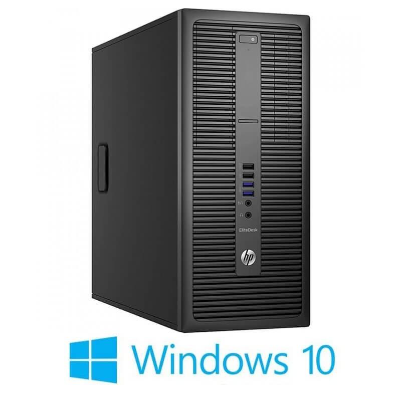Calculator HP EliteDesk 800 G2 MT, Quad Core i5-6500, 256GB SSD, Win 10 Home