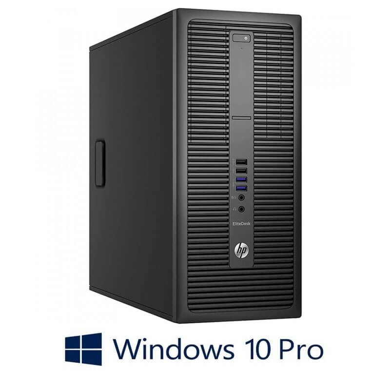 Calculator HP EliteDesk 800 G2 MT, Quad Core i5-6500, 256GB SSD, Win 10 Pro