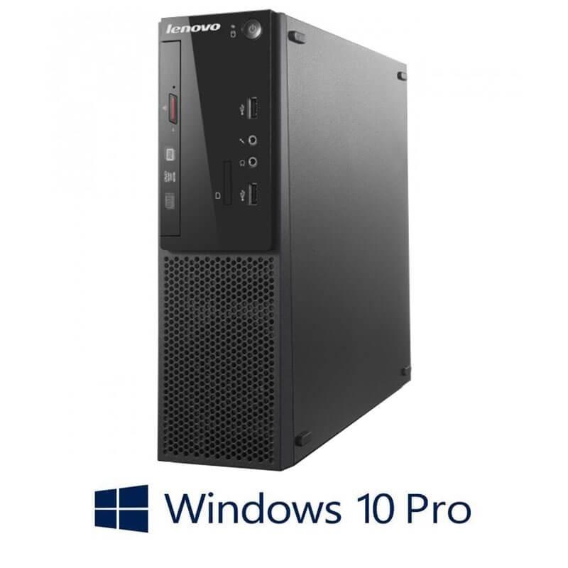 Calculator Lenovo S500 SFF, Quad Core i5-4460S, 750GB HDD, Windows 10 Pro