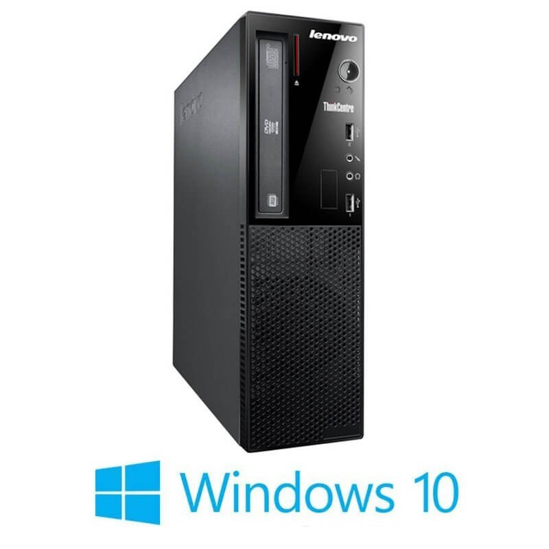 Calculator Lenovo ThinkCentre E73 SFF, Intel i5-4460S, 750GB HDD, Win 10 Home