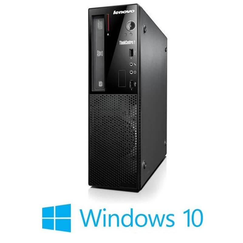 Calculator Lenovo ThinkCentre Edge 72 SFF, Quad Core i5-3470S, Win 10 Home