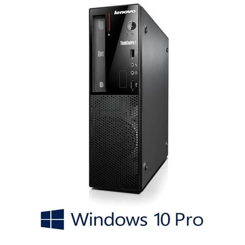Calculator Lenovo ThinkCentre Edge 72 SFF, Quad Core i5-3470S, Win 10 Pro