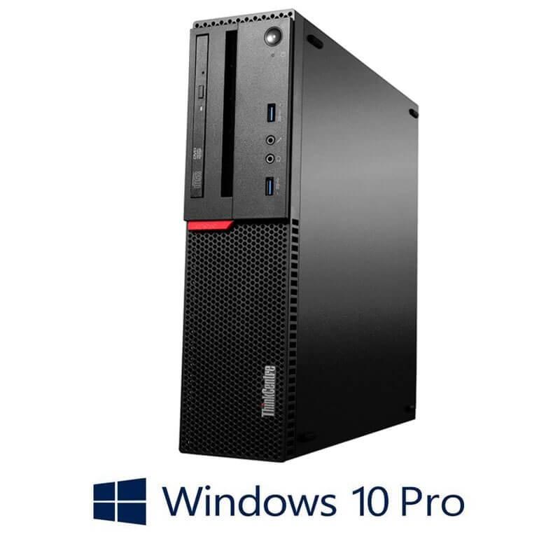 Calculator Lenovo ThinkCentre M700 SFF, Core i5-6400, Quadro K420, Win 10 Pro