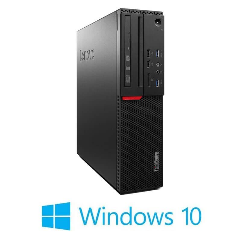 Calculator Lenovo ThinkCentre M800 SFF, i5-6500T, 240GB SSD NOU, Win 10 Home