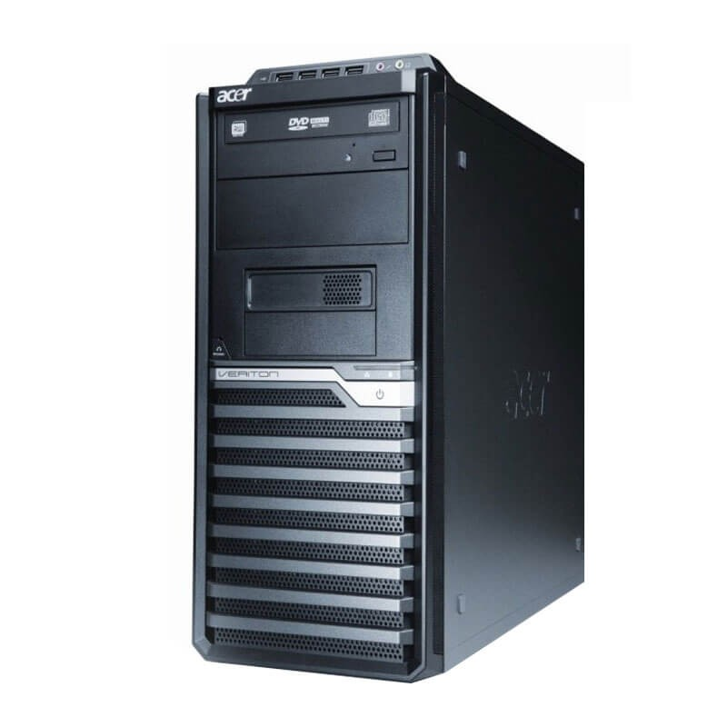 Calculator second hand Acer Veriton M290 MT, Intel Quad Core i7-2600, 180GB SSD