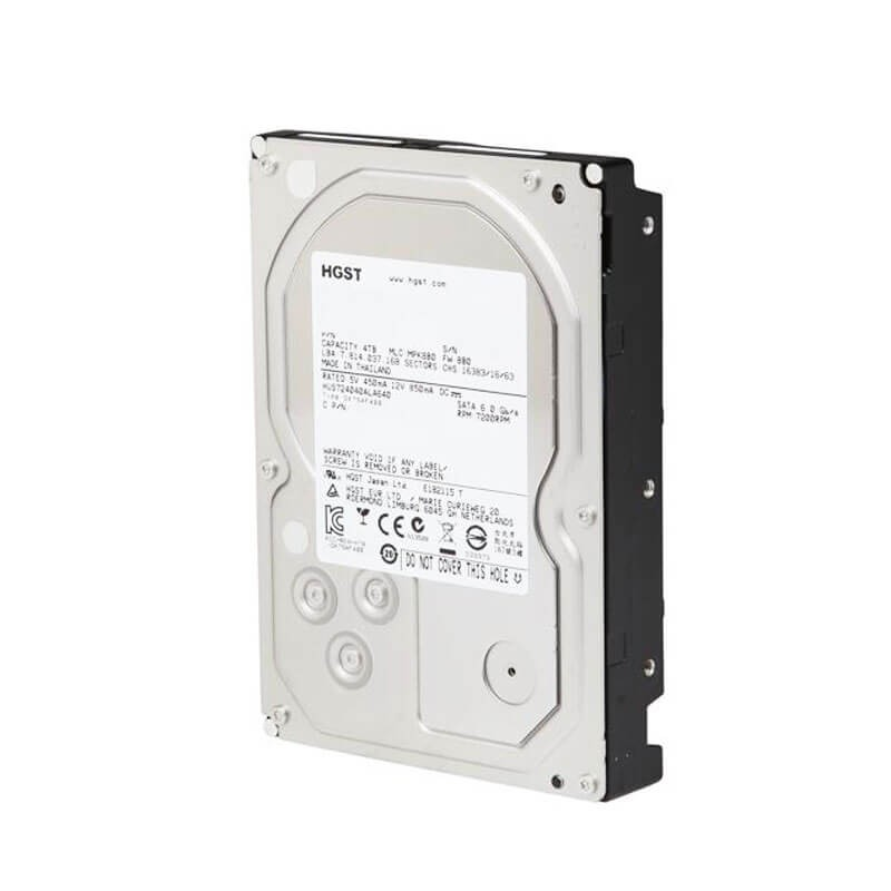 HDD HGST Ultrastar HUS724040ALA640, 4TB SATA3 6Gb/s, 64Mb Cache