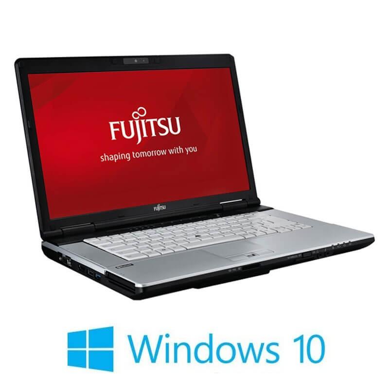 Laptop Fujitsu LIFEBOOK S751, i3-2350M, 120GB SSD NOU, Webcam, Win 10 Home