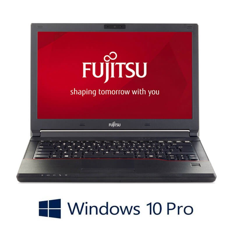Laptop Fujitsu LIFEBOOK E546, i3-6006U, SSD, Webcam, Win 10 Pro