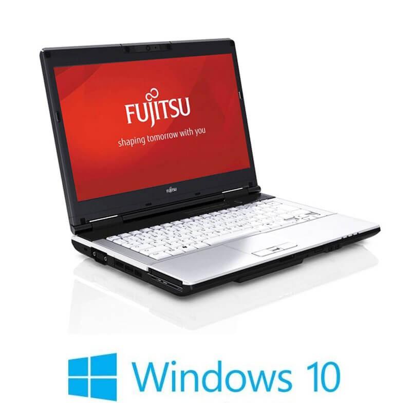 Laptop Fujitsu LIFEBOOK S751, Intel i3-2350M, Webcam, Win 10 Home