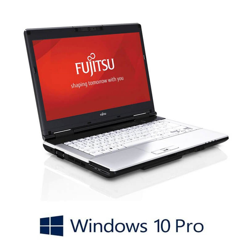 Laptop Fujitsu LIFEBOOK S751, Intel i3-2350M, Webcam, Win 10 Pro