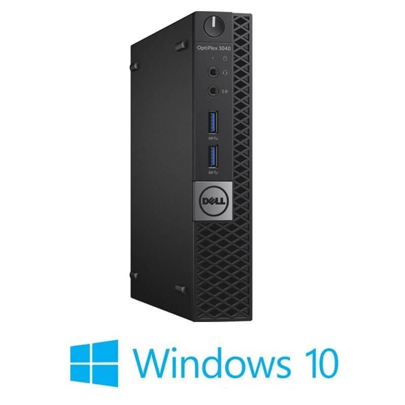 Mini Calculatoare Dell OptiPlex 3040, Quad Core i7-6700T, 120GB SSD NOU, Windows 10 Home