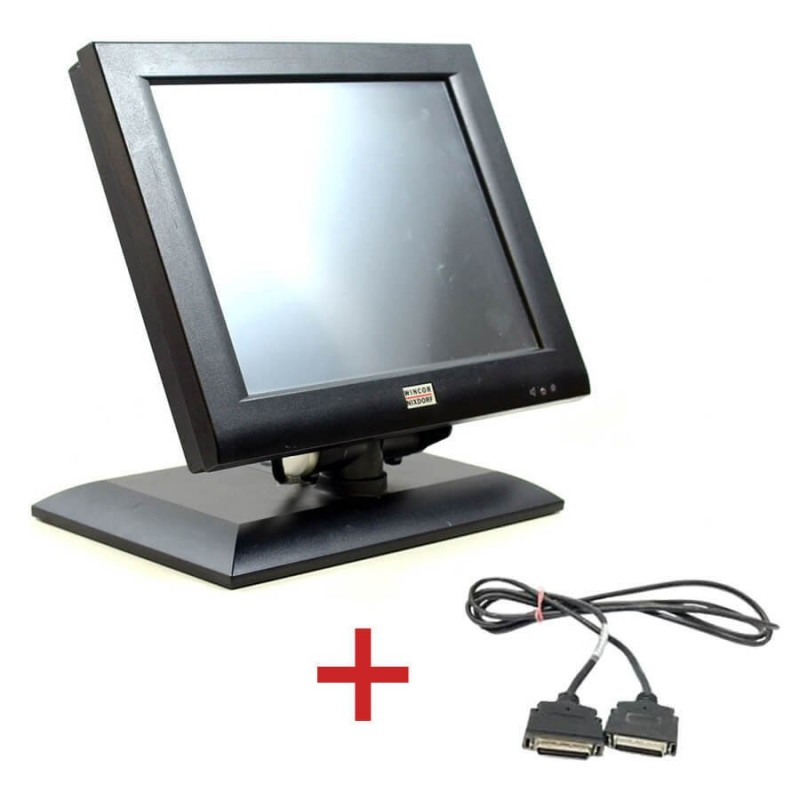 Monitoare Touch BA72A-2, IR-Touch, 12 inch + Cablu Special Plink Wincor