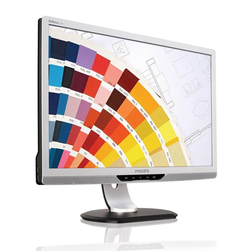 Monitor LCD Philips Brilliance 220P2ES, 22 inci Widescreen