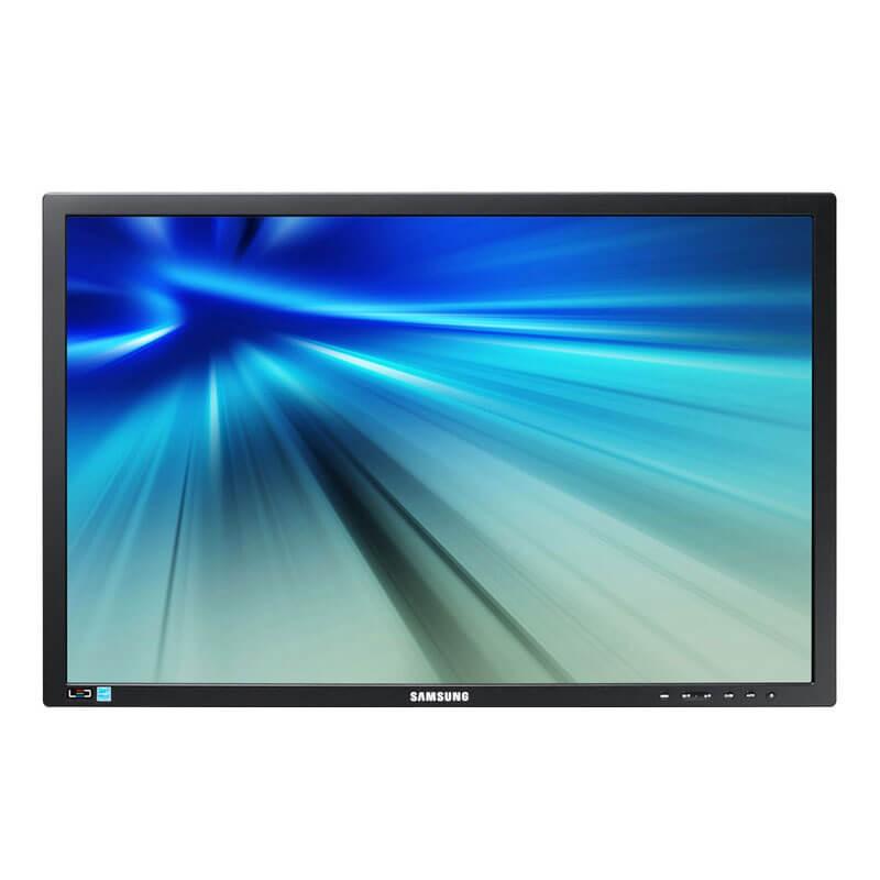 Monitor LED Samsung S24B420BW, 24 inci Full HD