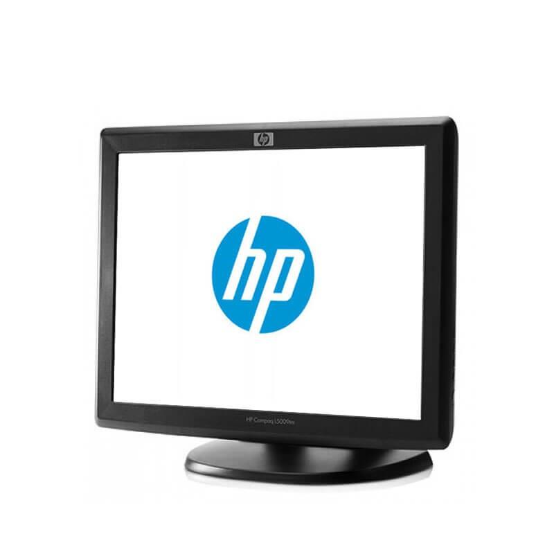 Monitor Touchscreen second hand HP Compaq L5009tm, 15 inci, Grad A-, USB