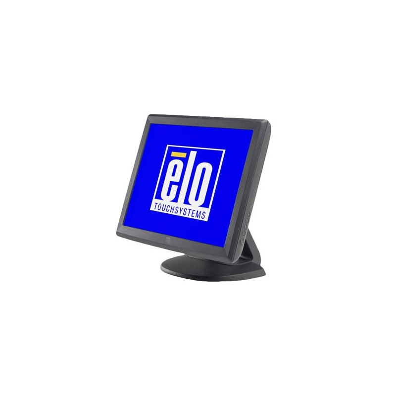 Monitor touchscreen Usb si Serial second hand Elo 1515L, Grad B