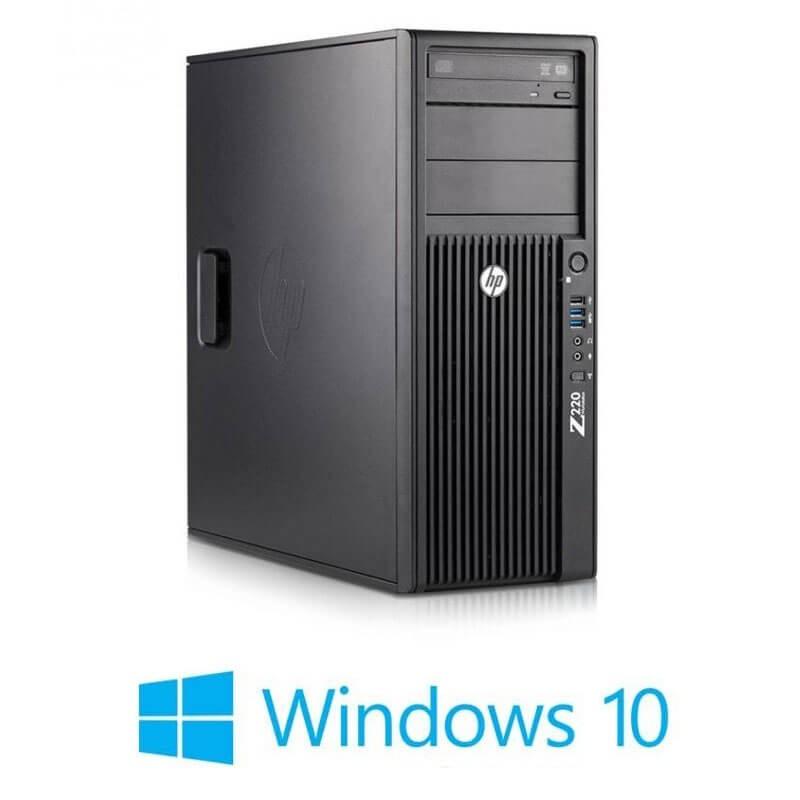 Statie grafica HP Z220 MT, Quad Core i7-3770, Quadro 2000 1GB 128-bit, Win 10 Home