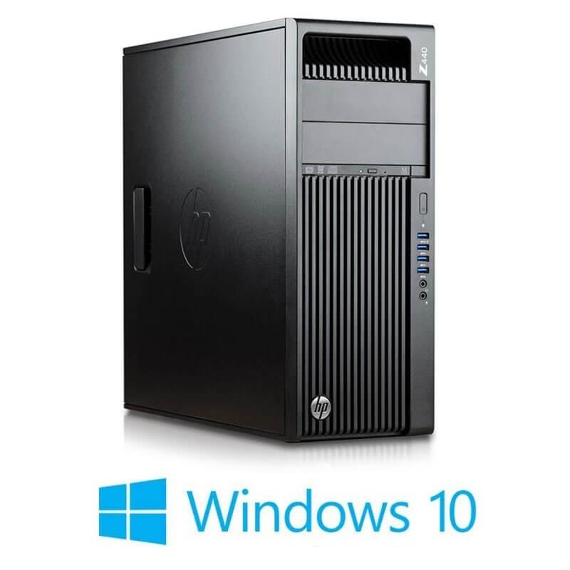 Statie grafica HP Z440, Xeon E5-2680 v3 12-Core, SSD, Quadro K4200 4GB, Win 10 Home