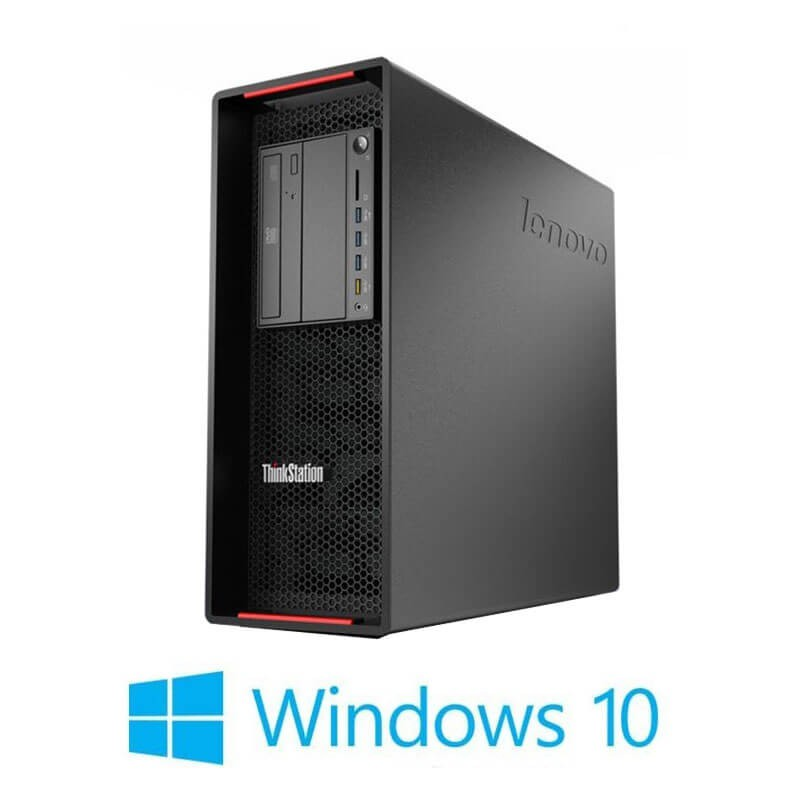 Statie grafica Refurbished Lenovo ThinkStation P500, E5-1620 v3, Quadro K2200, Win 10 Home