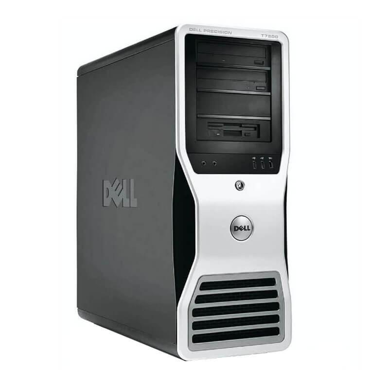 Statie grafica second hand Dell Precision T7500, Xeon X5650, 24GB DDR3, GeForce GT 240