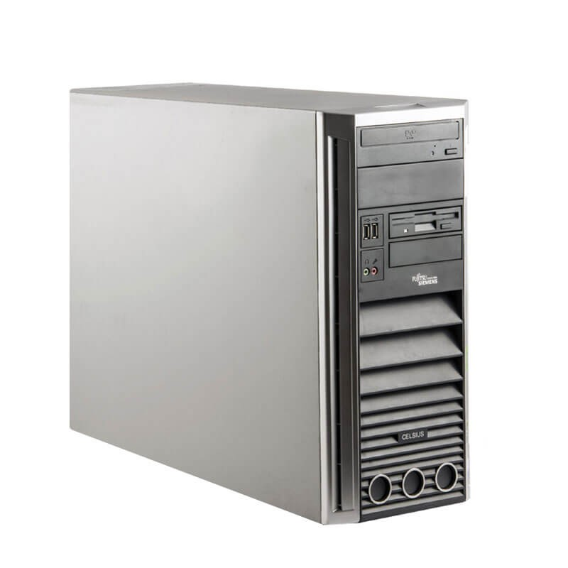 Statie grafica second hand Fujitsu CELSIUS W360, Intel Dual Core E2160