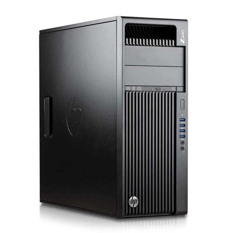 Statie grafica second hand HP Z440, Xeon E5-1620 v3, 180GB SSD, Quadro M4000 8GB 256-bit