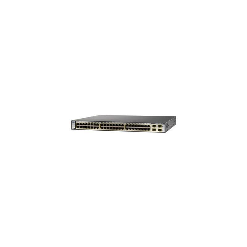 Switch SH Cisco Catalyst WS-C3750G-48TS-S